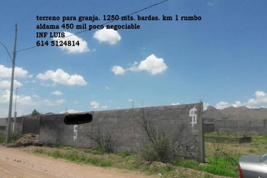 Aldama,Chihuahua,México,Lotes-Terrenos,2929