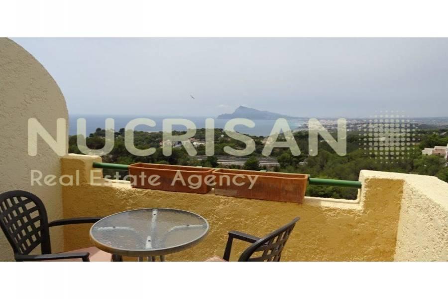 Altea,Alicante,España,2 Bedrooms Bedrooms,1 BañoBathrooms,Bungalow,21655