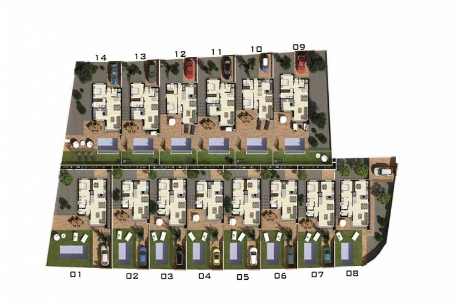 Orihuela Costa,Alicante,España,3 Bedrooms Bedrooms,4 BathroomsBathrooms,Casas,22298