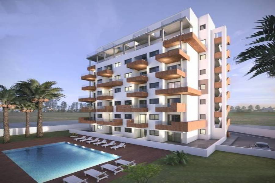 Guardamar del Segura,Alicante,España,2 Bedrooms Bedrooms,2 BathroomsBathrooms,Apartamentos,22316