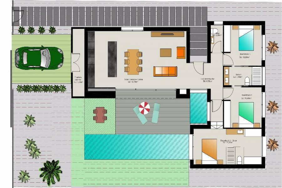 Benijófar,Alicante,España,3 Bedrooms Bedrooms,2 BathroomsBathrooms,Casas,22357