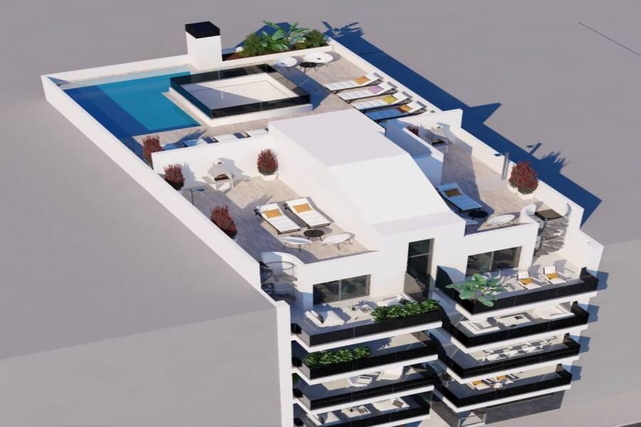 Torrevieja,Alicante,España,3 Bedrooms Bedrooms,2 BathroomsBathrooms,Apartamentos,22406