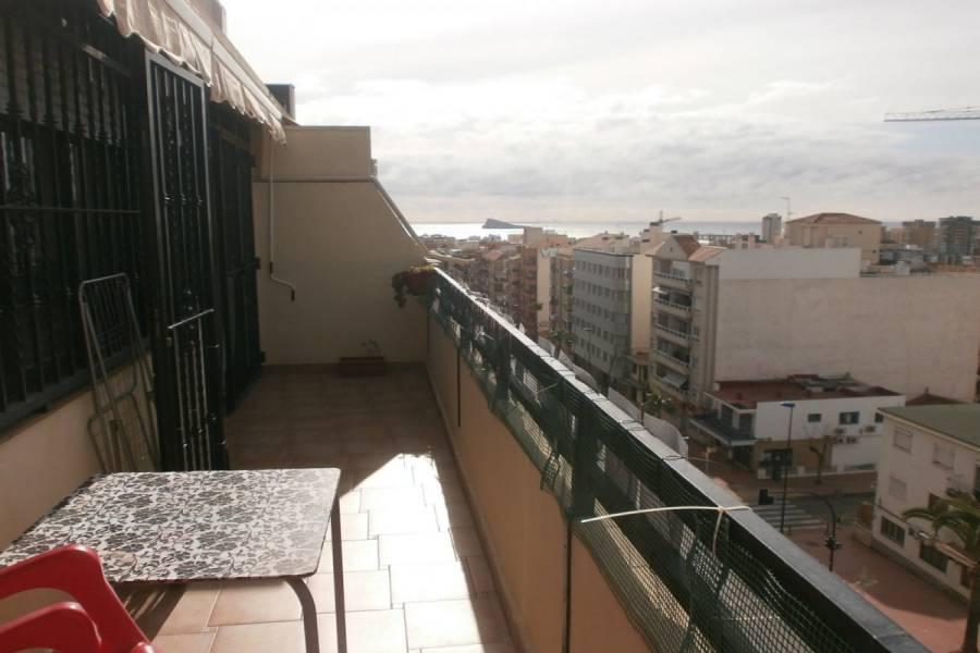 Benidorm,Alicante,España,2 Bedrooms Bedrooms,2 BathroomsBathrooms,Atico,24301