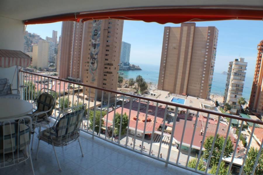 Benidorm,Alicante,España,3 Bedrooms Bedrooms,2 BathroomsBathrooms,Apartamentos,25537