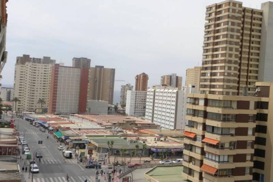 Benidorm,Alicante,España,2 Bedrooms Bedrooms,2 BathroomsBathrooms,Apartamentos,25702
