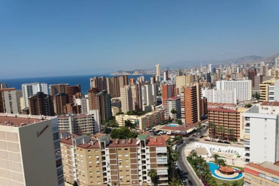 Benidorm,Alicante,España,2 Bedrooms Bedrooms,2 BathroomsBathrooms,Apartamentos,25805