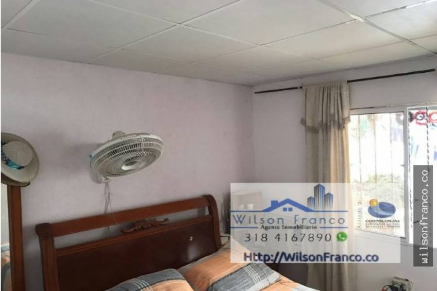 Cartagena de Indias,Bolivar,Colombia,2 Bedrooms Bedrooms,1 BañoBathrooms,Casas,3415
