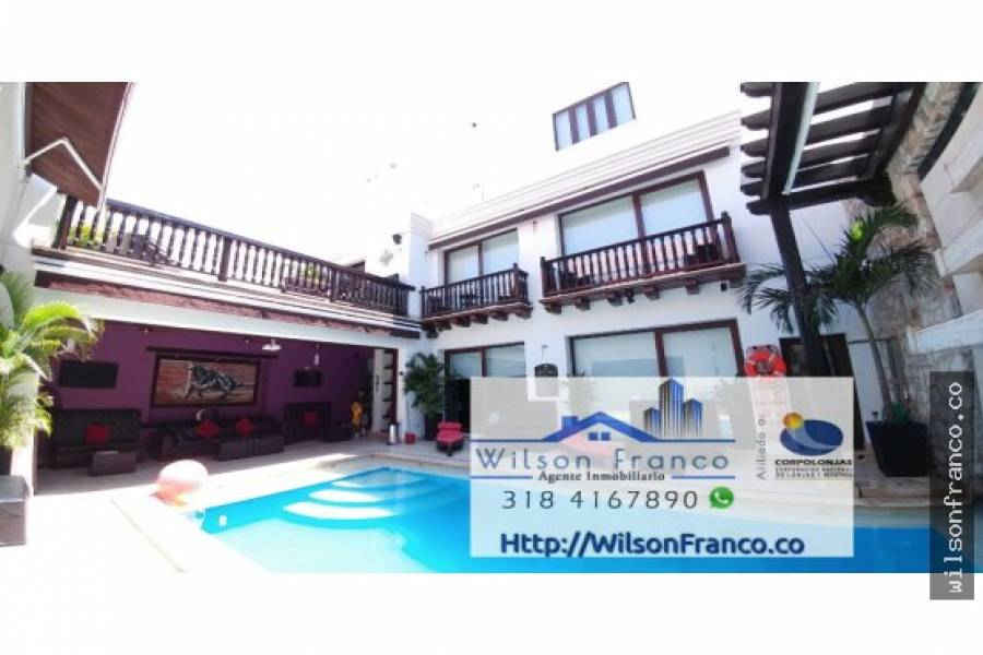 Cartagena de Indias,Bolivar,Colombia,6 Bedrooms Bedrooms,8 BathroomsBathrooms,Hoteles,3428