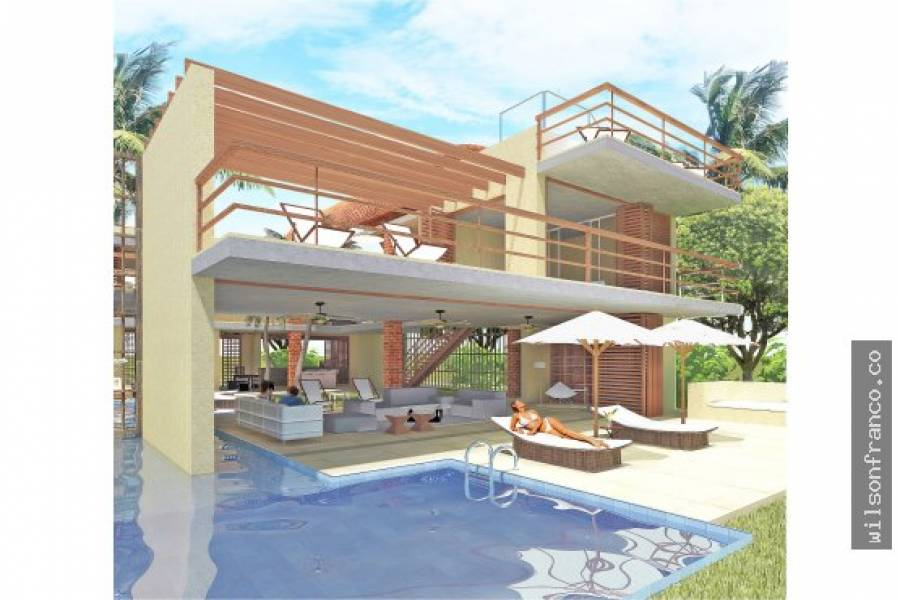 Cartagena de Indias,Bolivar,Colombia,3 Bedrooms Bedrooms,4 BathroomsBathrooms,Casas,3436