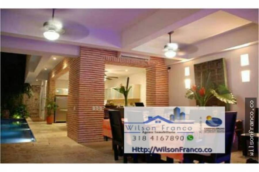 Cartagena de Indias,Bolivar,Colombia,4 Bedrooms Bedrooms,5 BathroomsBathrooms,Casas,3472