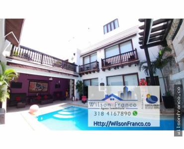 Cartagena de Indias,Bolivar,Colombia,6 Bedrooms Bedrooms,8 BathroomsBathrooms,Hoteles,3473