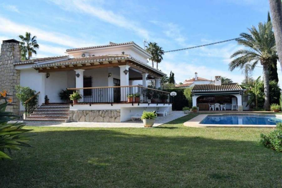 Dénia,Alicante,España,4 Bedrooms Bedrooms,4 BathroomsBathrooms,Chalets,29764