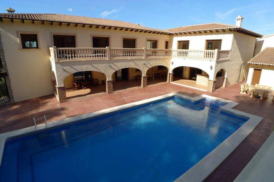 Llíber,Alicante,España,9 Bedrooms Bedrooms,8 BathroomsBathrooms,Chalets,30053