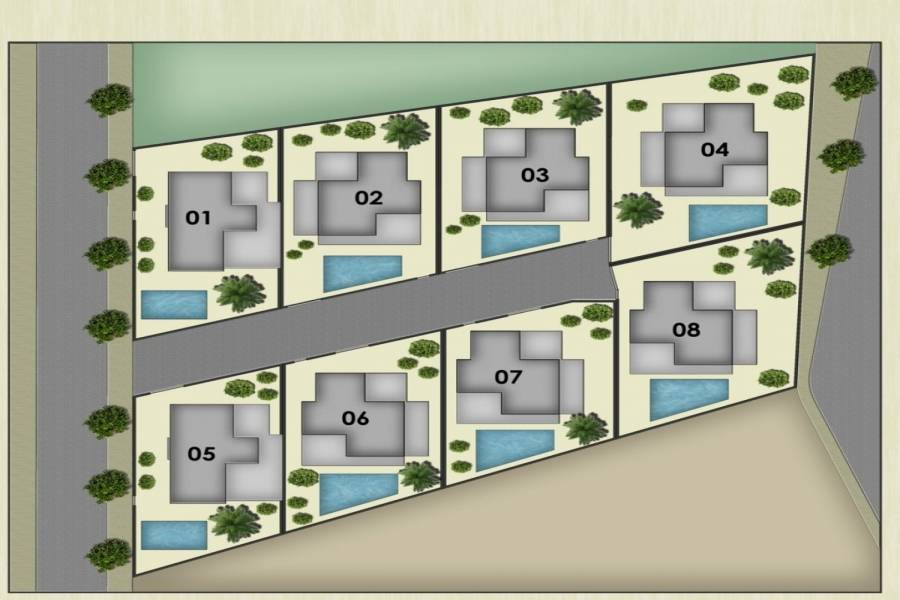 Los Montesinos,Alicante,España,3 Bedrooms Bedrooms,2 BathroomsBathrooms,Casas,32105
