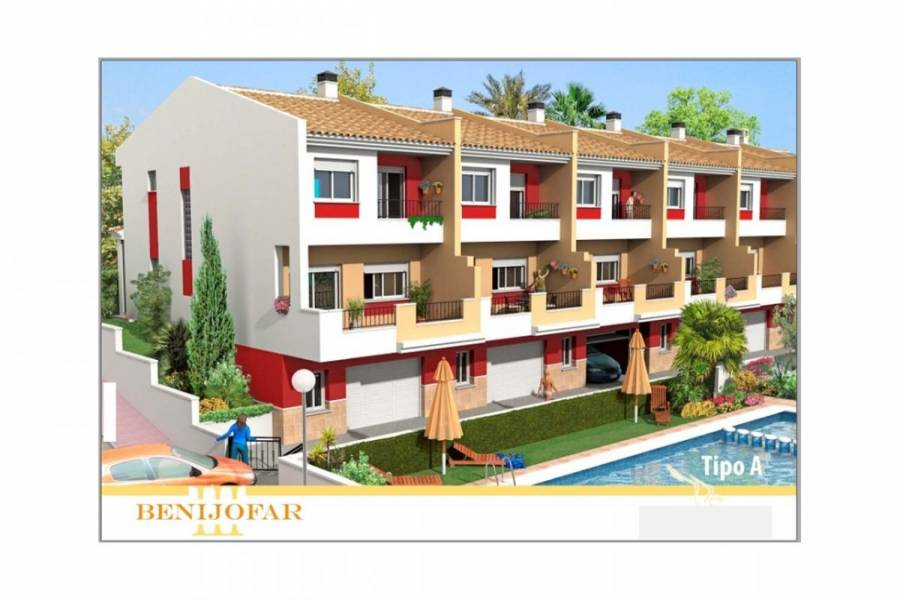 Benijófar,Alicante,España,4 Bedrooms Bedrooms,3 BathroomsBathrooms,Adosada,34409