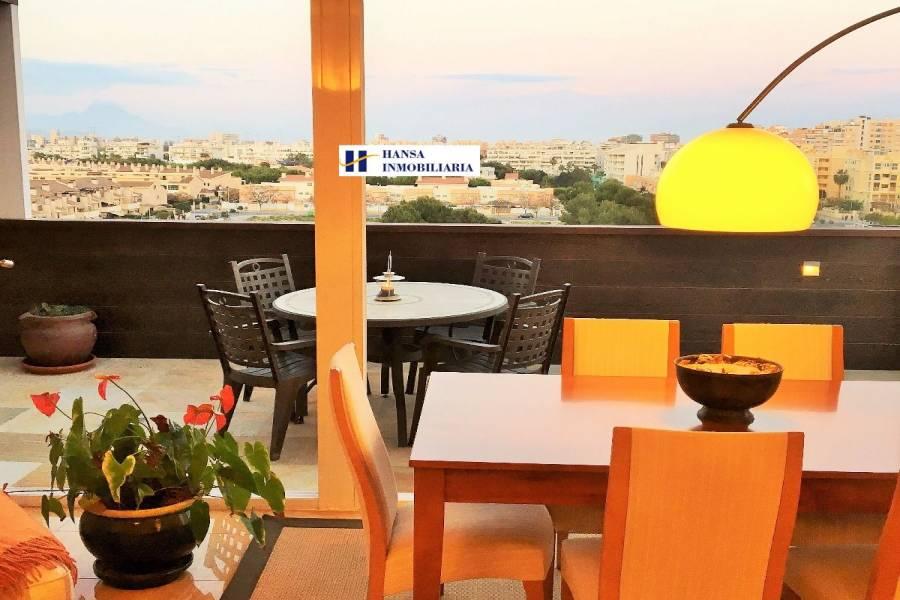 San Juan playa,Alicante,España,2 Bedrooms Bedrooms,2 BathroomsBathrooms,Atico,34458