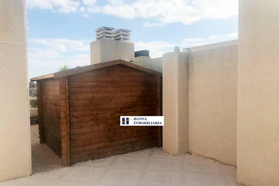 San Juan playa,Alicante,España,2 Bedrooms Bedrooms,2 BathroomsBathrooms,Atico,34460