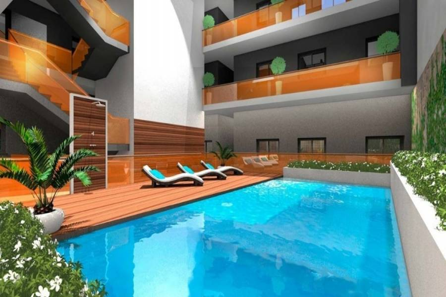 Torrevieja,Alicante,España,2 Bedrooms Bedrooms,2 BathroomsBathrooms,Apartamentos,34784
