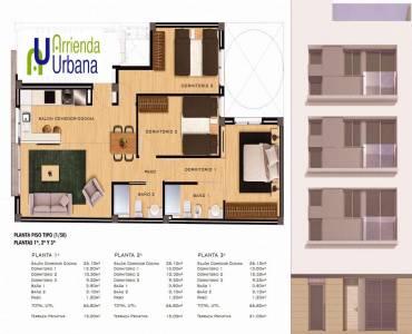 Elche,Alicante,España,3 Bedrooms Bedrooms,2 BathroomsBathrooms,Apartamentos,39485