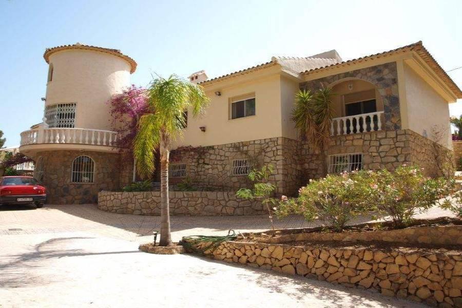 Alfaz del Pi,Alicante,España,5 Bedrooms Bedrooms,4 BathroomsBathrooms,Chalets,39744