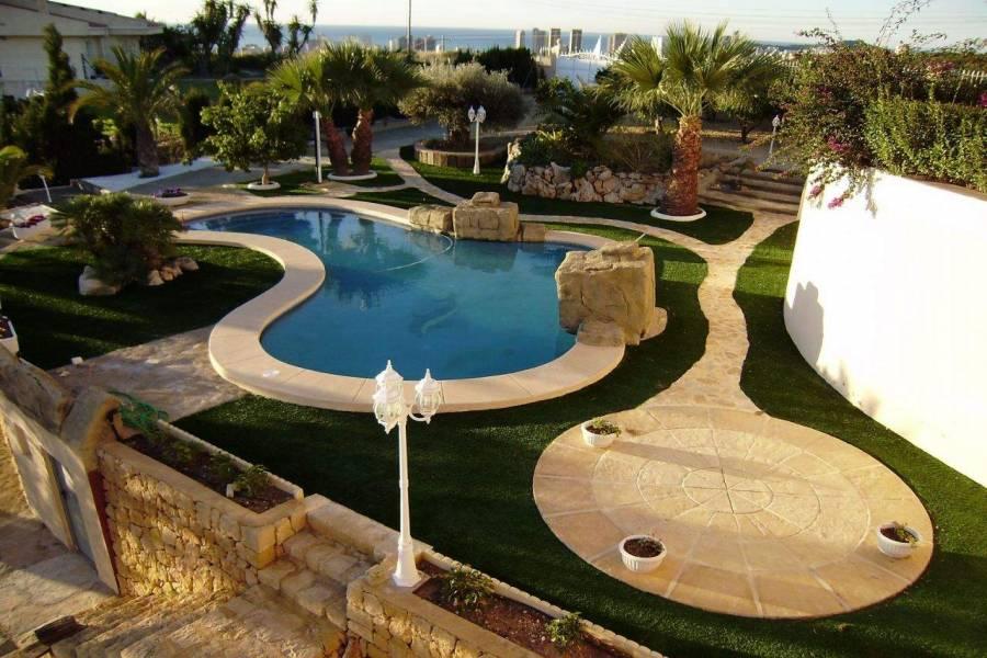 Benidorm,Alicante,España,6 Bedrooms Bedrooms,6 BathroomsBathrooms,Chalets,39848