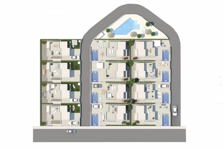 Ciudad Quesada,Alicante,España,3 Bedrooms Bedrooms,2 BathroomsBathrooms,Chalets,39869