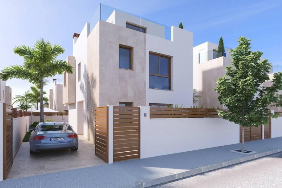 Pilar de la Horadada,Alicante,España,3 Bedrooms Bedrooms,3 BathroomsBathrooms,Chalets,40037