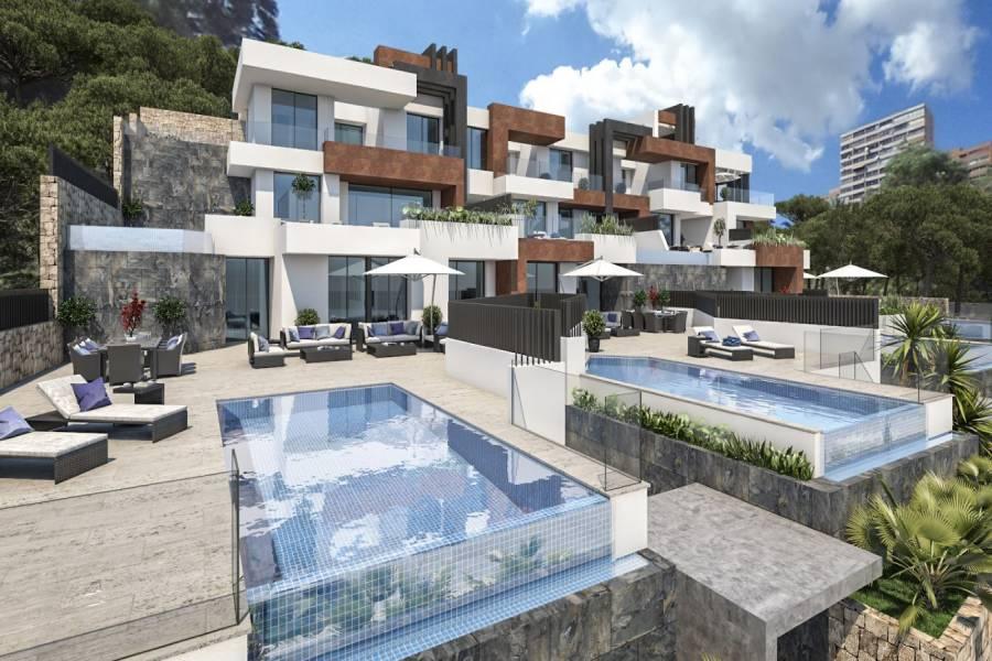 Benidorm,Alicante,España,3 Bedrooms Bedrooms,2 BathroomsBathrooms,Chalets,40178