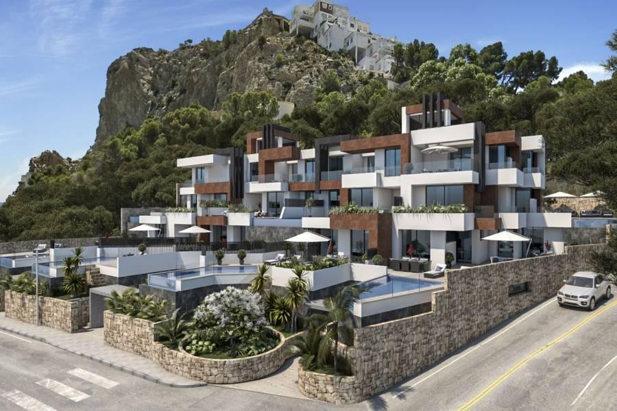 Benidorm,Alicante,España,3 Bedrooms Bedrooms,2 BathroomsBathrooms,Chalets,40179