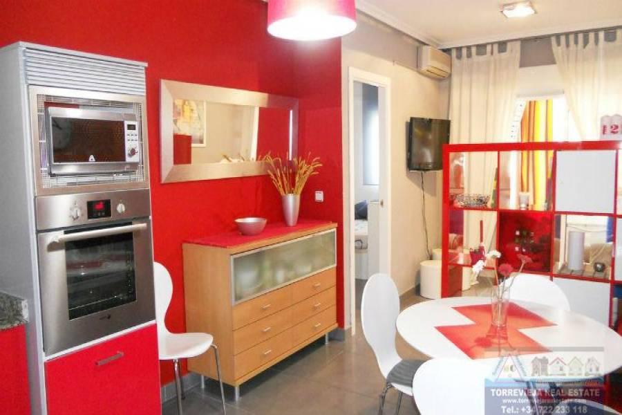 Torrevieja,Alicante,España,1 Dormitorio Bedrooms,1 BañoBathrooms,Apartamentos,40257