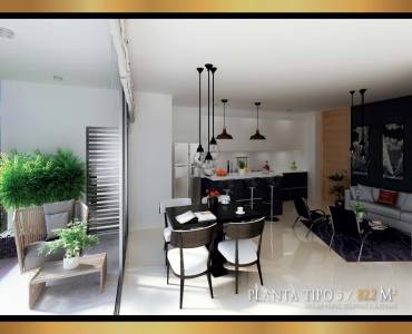 Medellin,Antioquia,Colombia,2 Bedrooms Bedrooms,2 BathroomsBathrooms,Apartamentos,40592