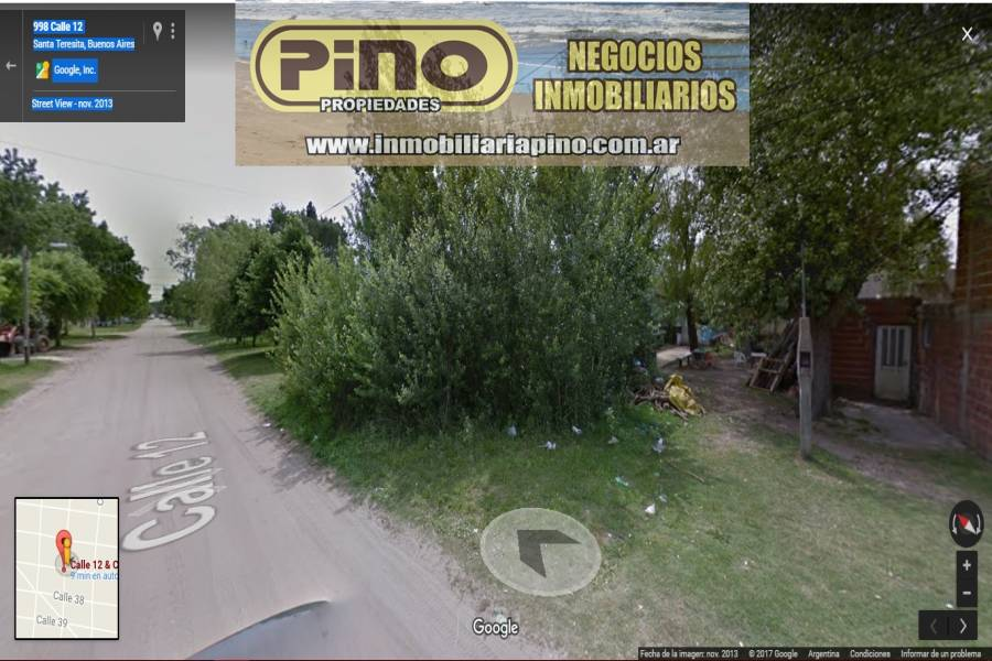 Santa Teresita, Buenos Aires, Argentina, ,Lotes-Terrenos,Venta,12,40808