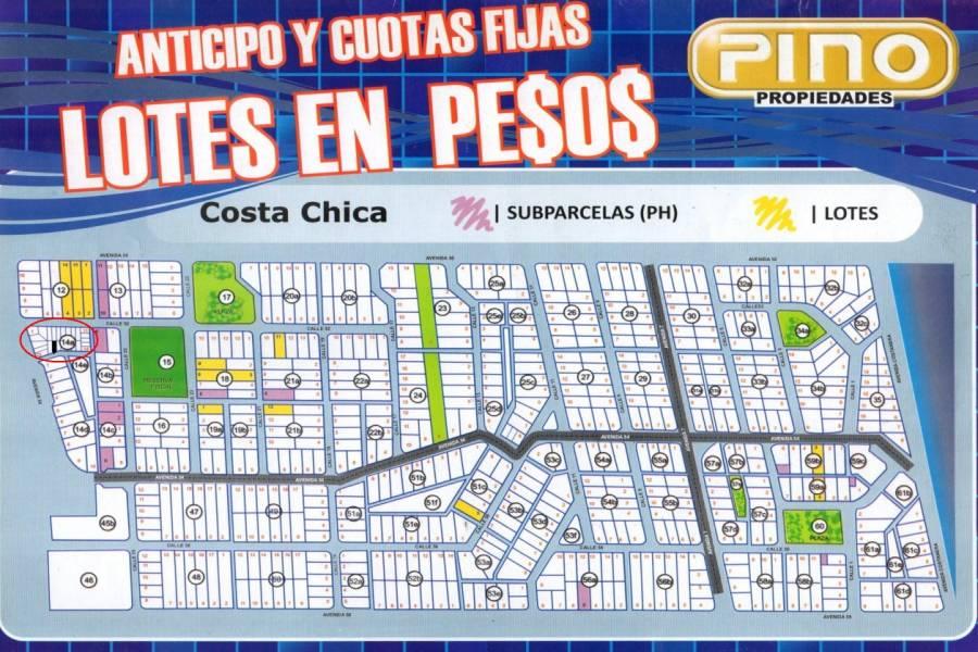 Las Toninas, Buenos Aires, Argentina, ,Lotes-Terrenos,Venta,COSTA CHICA - CALLE PEATONAL,40822