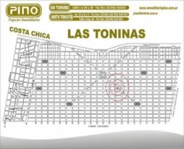 Las Toninas, Buenos Aires, Argentina, ,Lotes-Terrenos,Venta,DIAGONAL A ,40879