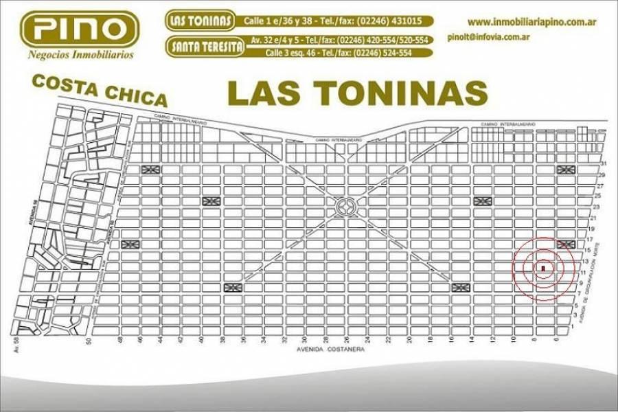Las Toninas, Buenos Aires, Argentina, ,Lotes-Terrenos,Venta,11,40880