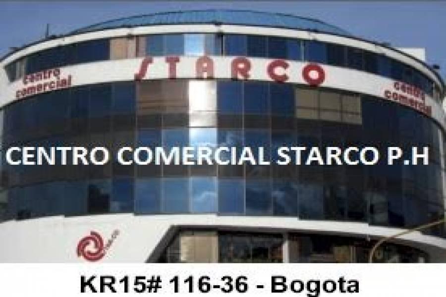 Bogotá D.C, Cundinamarca, Colombia, ,Locales,Venta,CENTRO COMERCIAL STARCOS,CALLE 116,2,41153