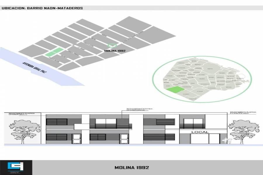 Mataderos, Buenos Aires, Argentina, ,Apartamentos,Venta,molina,41322