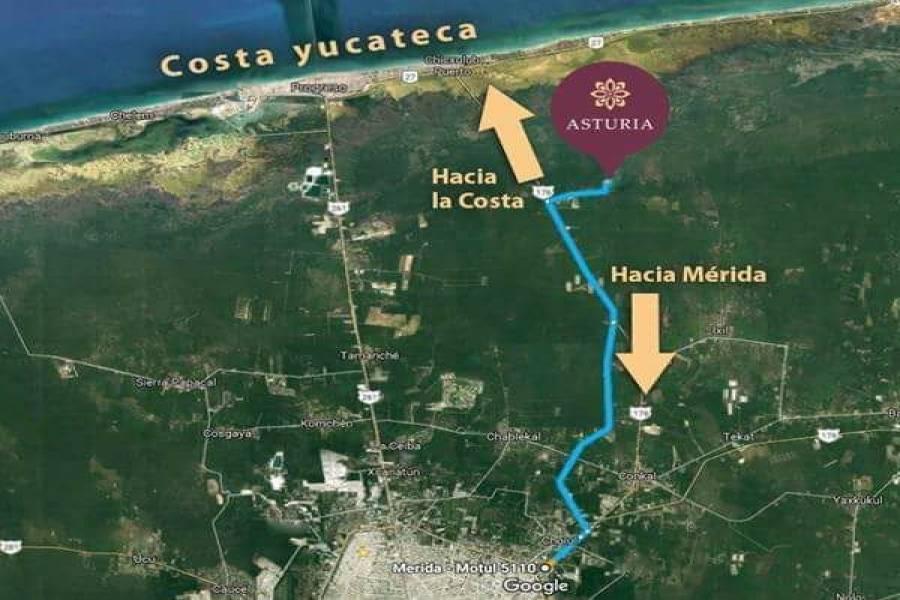 Chicxulub Pueblo,Yucatán,Mexico,Lotes-Terrenos,4598