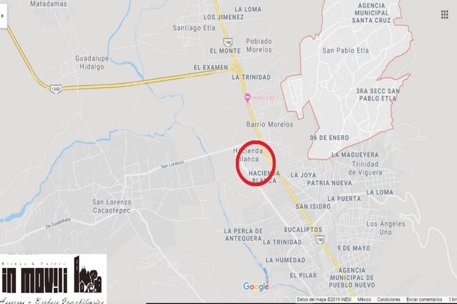 san pablo etla, Oaxaca, Mexico, ,Lotes-Terrenos,Venta,REVOLUCION 5, FRACC MANANTIAL, HACIENDA BLANCA, SA,42573