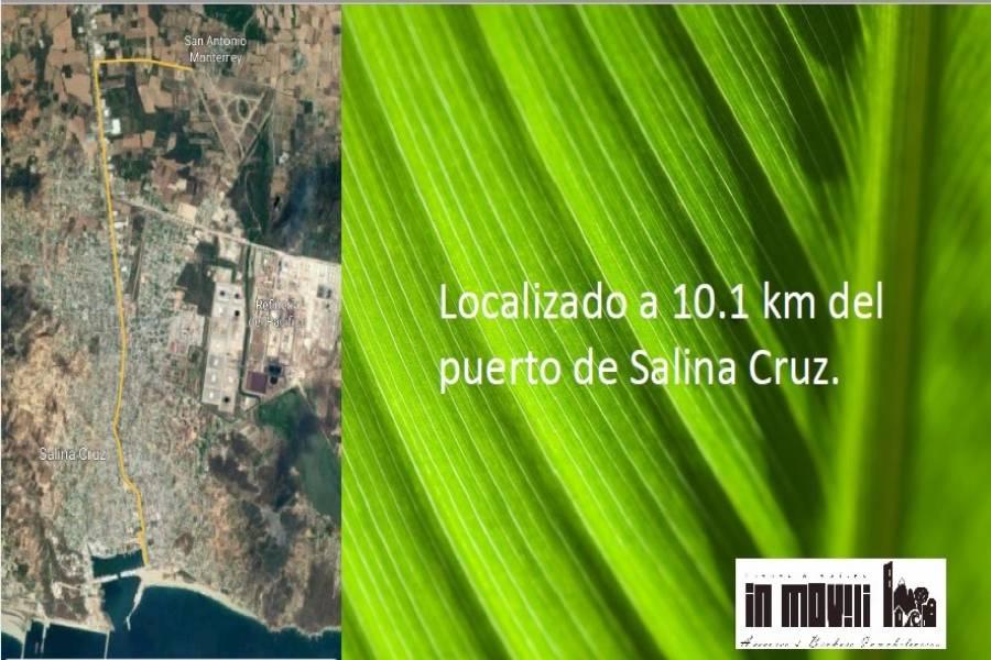 Salina Cruz, Oaxaca, Mexico, ,Lotes-terrenos comercial,Venta,carretera a san antonio monterrey 55,42575