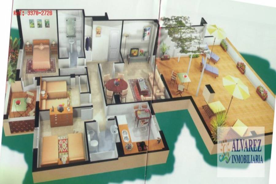 Alhaurín de la Torre,Málaga,España,3 Bedrooms Bedrooms,2 BathroomsBathrooms,Pisos,4840