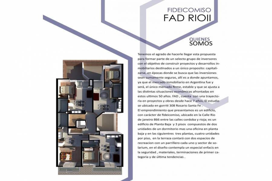 Rosario,Santa Fe,1 Dormitorio Habitaciones,1 BañoBaños,Departamentos,FAD RIO II,Rio de Janeiro,1418