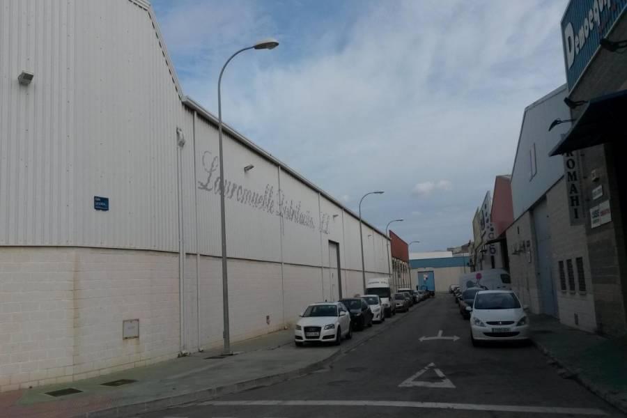 Málaga,Málaga,España,Galpones-Tinglados-Naves,5136