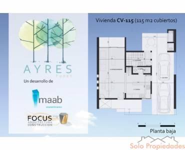 Funes,Santa Fe,3 Habitaciones Habitaciones,2 BañosBaños,Casas,Ayres Funes Barrio Privado,Las MArgaritas,1435