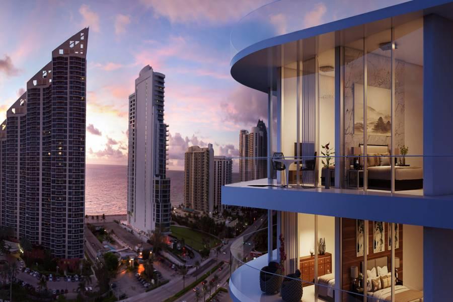 Para disfrutar cada nuevo amanecer desde su terraza privada