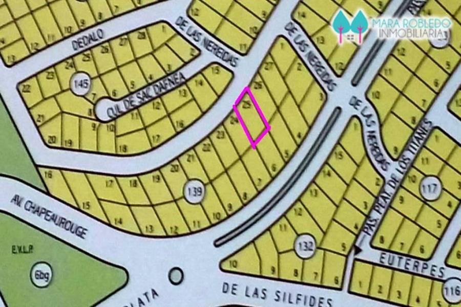 Pinamar,Buenos Aires,Argentina,Lotes-Terrenos,VULCANO ESQ NEREIDAS,5878