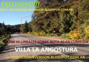 Villa La Angostura,Neuquén,Argentina,Lotes-Terrenos,Arrayanes 2800,6511