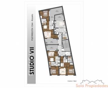 Rosario,Santa Fe,1 Dormitorio Habitaciones,1 BañoBaños,Cocheras,Studio VII,Pueyrredon,1572