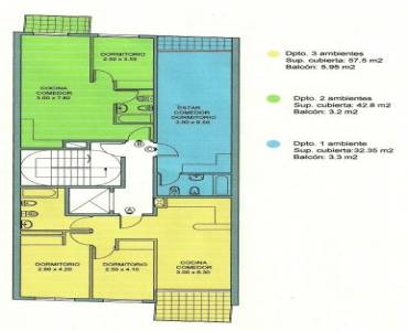 San Cristobal,Capital Federal,Argentina,2 Bedrooms Bedrooms,1 BañoBathrooms,Apartamentos,ALBERTI ,6702
