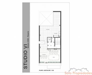 Rosario,Santa Fe,1 Dormitorio Habitaciones,1 BañoBaños,Departamentos,Studio VI,Moreno,5,1588